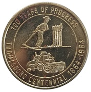 ½ Dollar - Thomasboro Centennial (Thomasboro, Illinois) – obverse