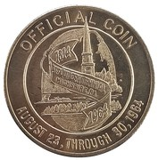 50 Cents - Sesquicentennial Celebration (Highspire,  Pennsylvania) – obverse