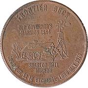 1 Dollar - Prescott Frontier Rotary Club (Prescott, Arizona) – reverse