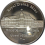 Token - Royal Dutch mint (World Money Fair 2018) – reverse