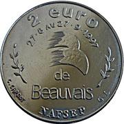 2 Euro (Beauvais) – reverse