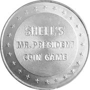 Token - Shell's Mr. President Coin Game (Andrew Johnson) -  reverse