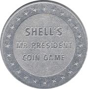 Token - Shell's Mr. President Coin Game (Calvin Coolidge) – reverse