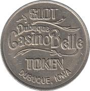 25 Cents Gaming Token - Dubuque Casino Belle (Dubuque, Iowa) – obverse