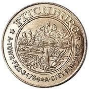 50 Cents - Fitchburg (Fitchburg, Massachusetts) – obverse