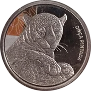 Token - Real Animals Series (Jaguar) – obverse