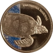 Token - Real Animals Series (Sea turtle) – obverse