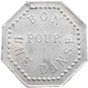 Token - Bon pour une danse - Luiset Bal (Paris) – reverse
