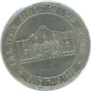 Token - Texas Numismatic Association (10th Convention) – reverse