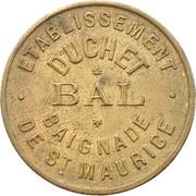 Token - Etablissement Duchet - Bal (Ivry sur Seine) – obverse
