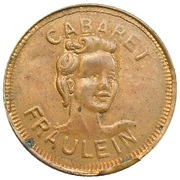 Token - Cabaret Fraulein chez Suzy (Paris; occupation) – obverse