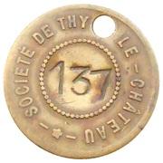 20 Francs - Societe de Thy-le-Château – obverse