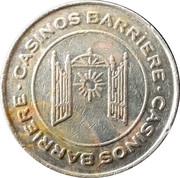 1 Franc - Casino Barrière (Montreux) – obverse