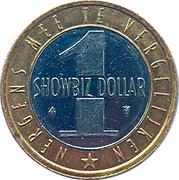 1 Showbiz Dollar - Showbiz City – reverse