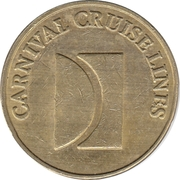 25 Token - Carnival Cruise Lines – obverse