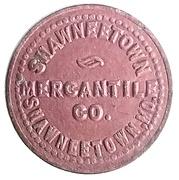 1 Cent - Shawneetown Mercantile Co. (Shawneetown, Missouri) – obverse