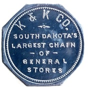 1 Dollar - K & K Co. – obverse