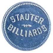 25 Cents - Stauter Billiards – obverse
