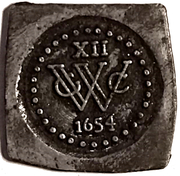 Token - XII Stuivers (Replica of siege coinage) – obverse