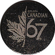 Token - Molson Canadian – obverse