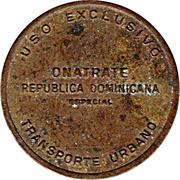 Bus Token - ONATRATE (Santo Domingo) – obverse