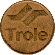 Trolleybus Token - Trole (Quito) – obverse