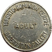 Token - Toronto-Dominion Centre Observation Gallery – obverse
