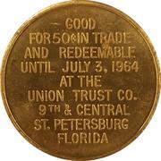 50 Cents - Funtime Celebration (St. Petersburg, Florida) – reverse