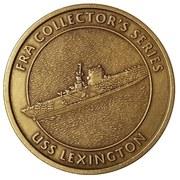 Token - FRA Collector's Series (USS Lexington) – reverse