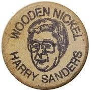 Wooden Nickel - Harry Sanders – reverse
