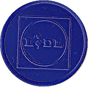 Shopping Cart Token - Lidl – obverse