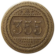 20 Centimes - A Consommer (355) – reverse