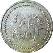 25 Centimes - Pons Primeurs (Montceau-les-Mines) – reverse