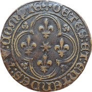 Counter Token - Louis XI – obverse