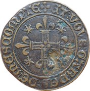 Counter Token - Louis XI – reverse