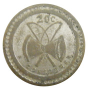 20 Centimes - P. Bussoz (Paris) – reverse