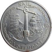 4 Daalder - Sail '85 Amsterdam – obverse
