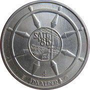 4 Daalder - Sail '85 Amsterdam – reverse