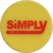 Shopping Cart Token - Simply (1 Euro) -  obverse