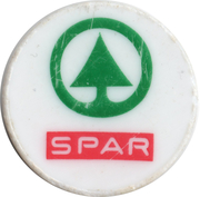 Shopping Cart Token - Spar – obverse