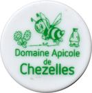 Shopping Cart Token - Domaine Apicole de Chezelles (green) – obverse