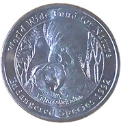Medallion - Westpac Australian Species (Palm Cockattoo) – obverse