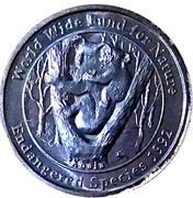 Medallion - Westpac Australian Species (Koala) – obverse