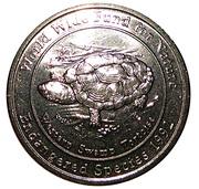 Medallion - Westpac Australian Species (Swamp Tortoise) – obverse