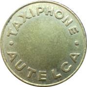 Token - Taxiphone  Autelca – obverse