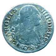 Token - Coleccion Ortiz (2 Reales Carlos IIII 1808) – obverse