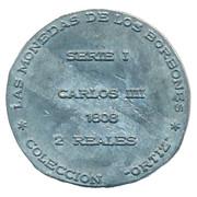 Token - Coleccion Ortiz (2 Reales Carlos IIII 1808) – reverse