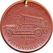 Medal - Freiwillige Feuerwehr Riesa (Automobile Rettungsleiter) – obverse