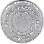 Transport Token - Enkel (Stockholm) – reverse
