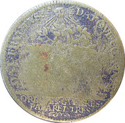 Token - Louis XIV (Ordinaire des Guerres) – reverse